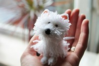 West highland white terrier knuffel